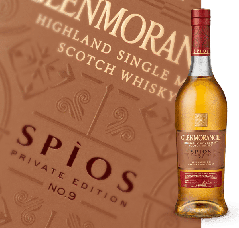 scottish whiskey Glenmorangie Spios