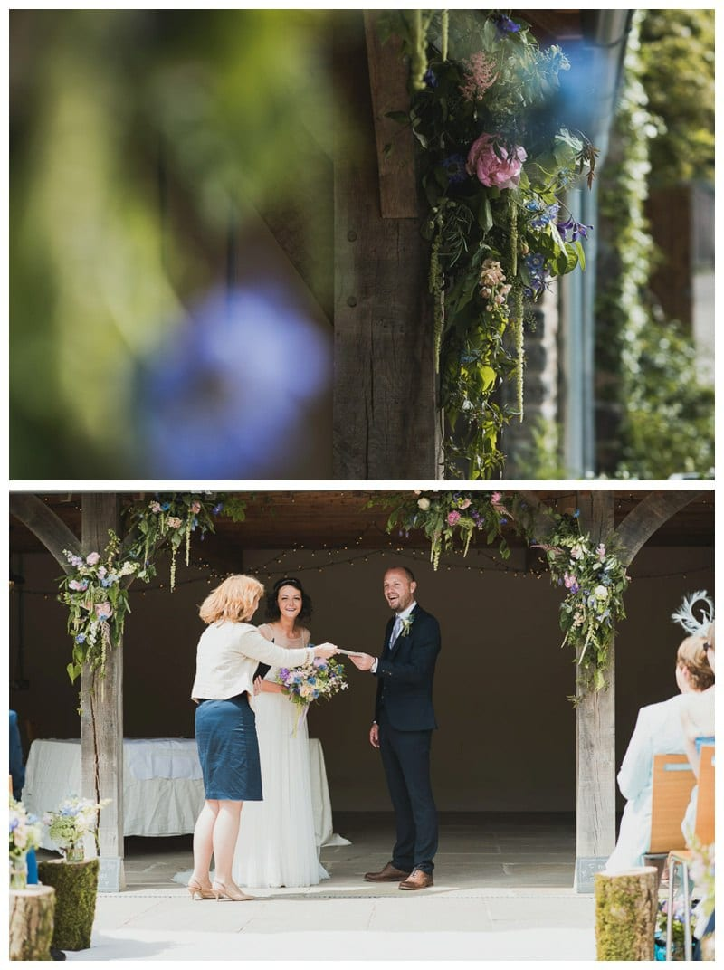 An in-depth behind-the-scenes look at a real life Ever After wedding flowers story…