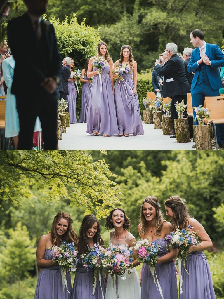 lavender trend ever after blog bridesmaids dresses