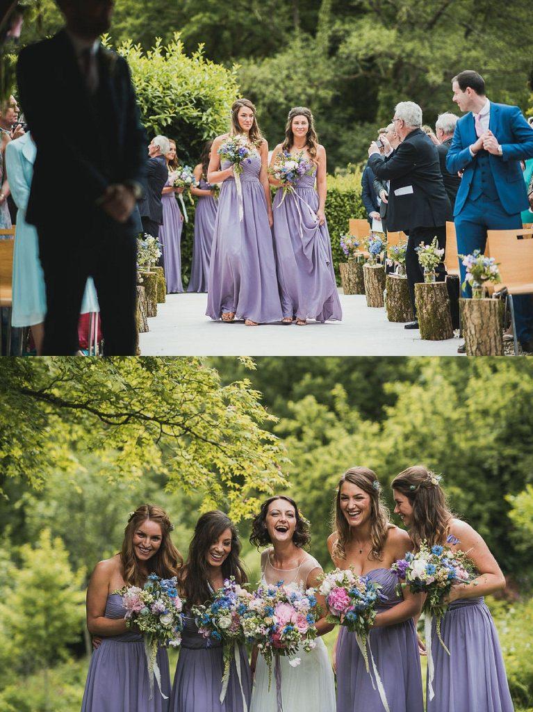 lavender trend ever after blog bridesmaids dresses