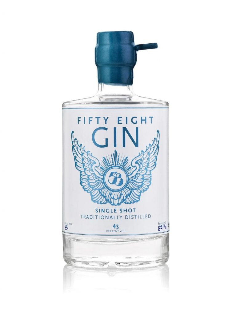 fifty eight gin wedding ginspiration branding
