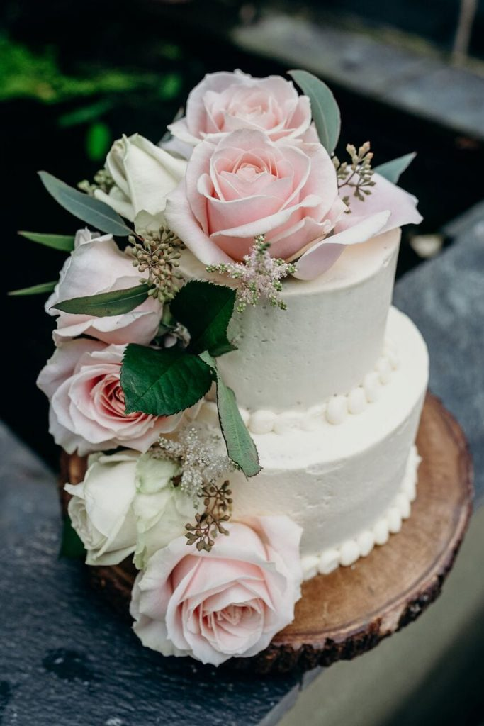 more cake elopement wedding cake inspiration ever after blog more flowers