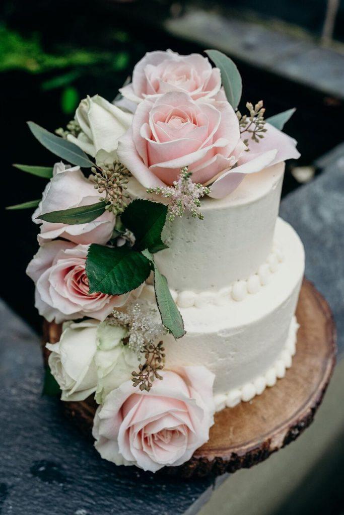 more cake elopement wedding cake inspiration ever after blog more flowers