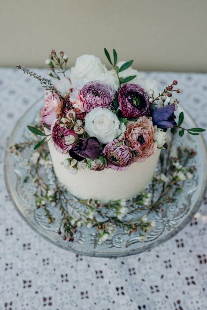 more cake elopement wedding cake inspiration ever after blog simple flowers