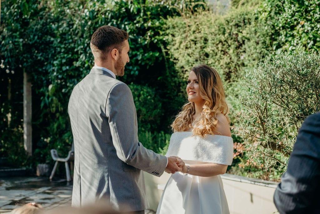 bride & groom ceremony