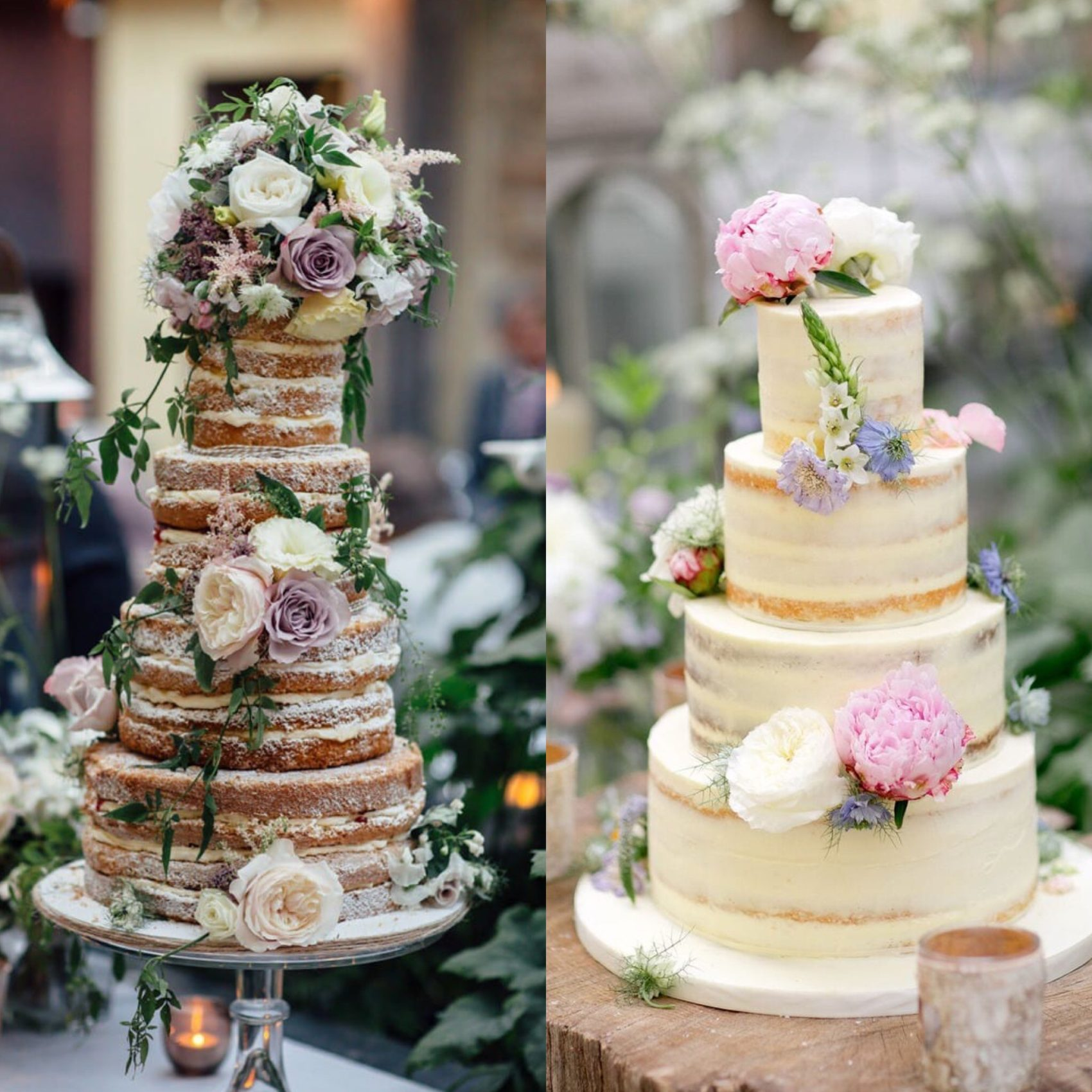 cake, naked cake, semi naked cake, flowers, tiers, wedding, frosting, icing, ever after, freckly photography, helen cawte, florist, ever after