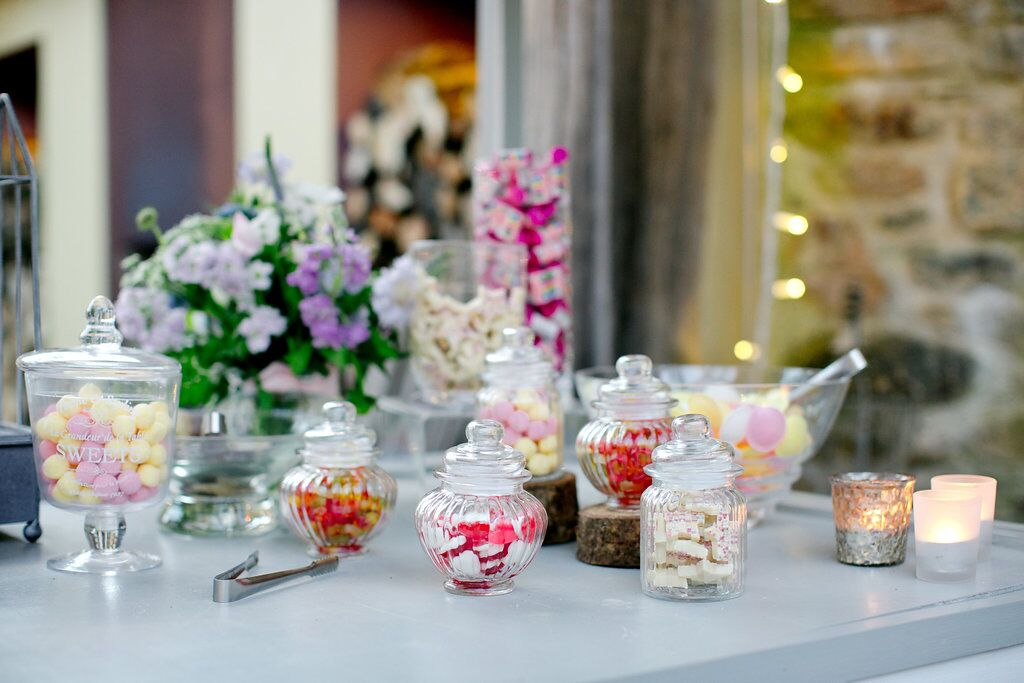 Sweet cart, sweet jars, locally sourced, beautifully presented, treats, personal, exclusive hire, Ever After
