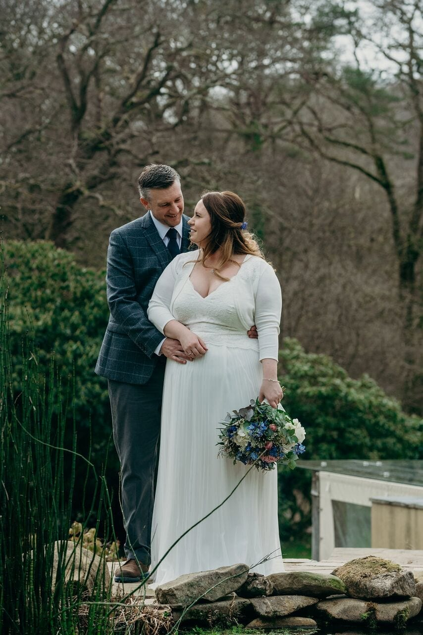 real elopement wedding at ever after Charlotte & Nick