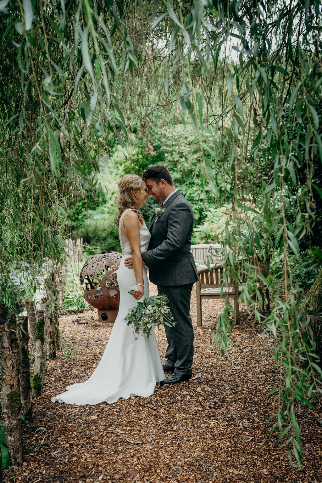 real summer elopement at ever after charlotte & shaun