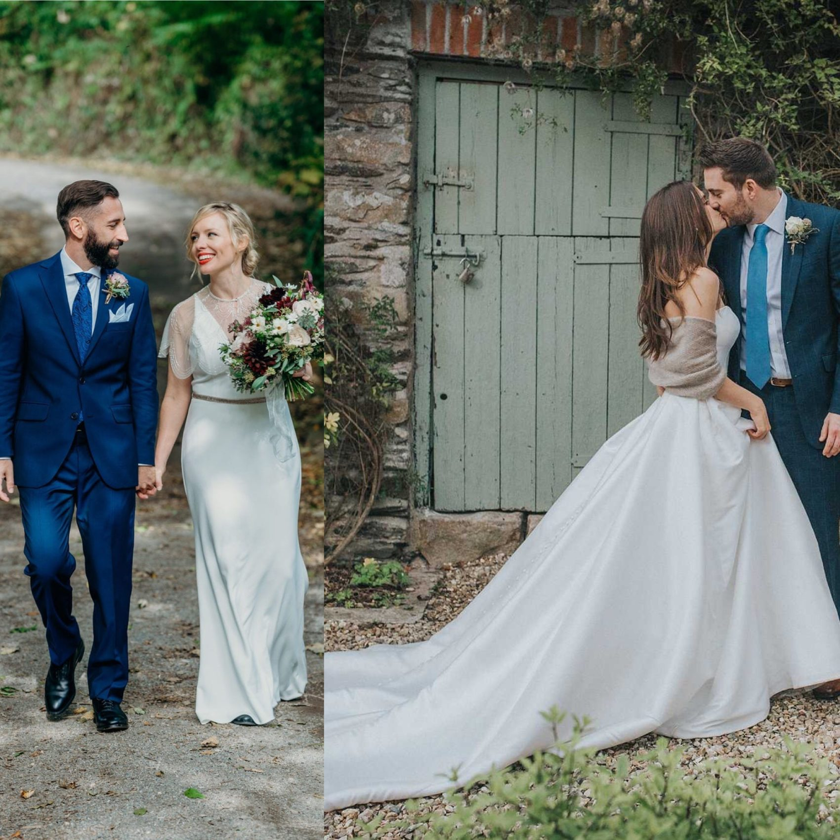 Ever After, Elopement, Wedding, Photographer, Photo, Clare Kinchen, white wedding, woodland wedding, flowers, couple