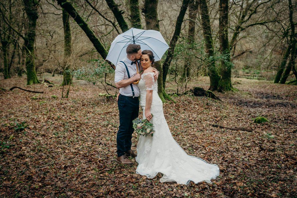 bride & groom outdoor photography