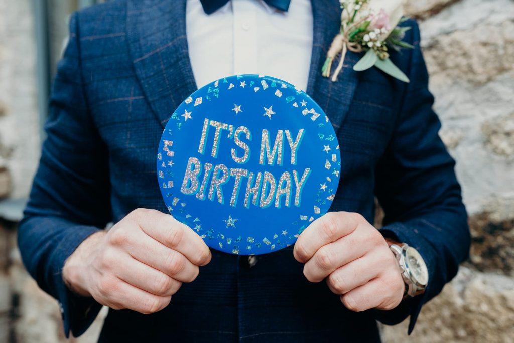 grooms birthday