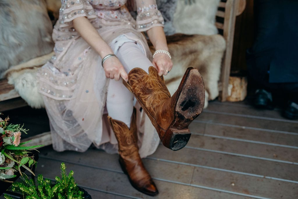 brides boots