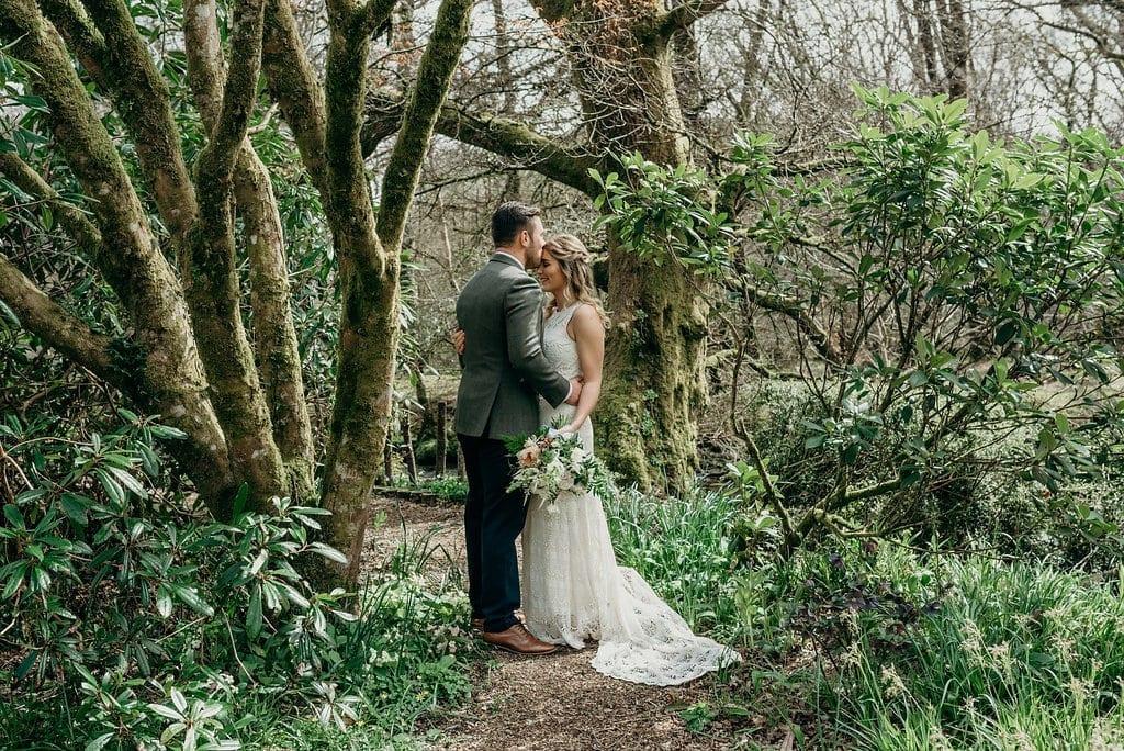 real elopement wedding farren and josh
