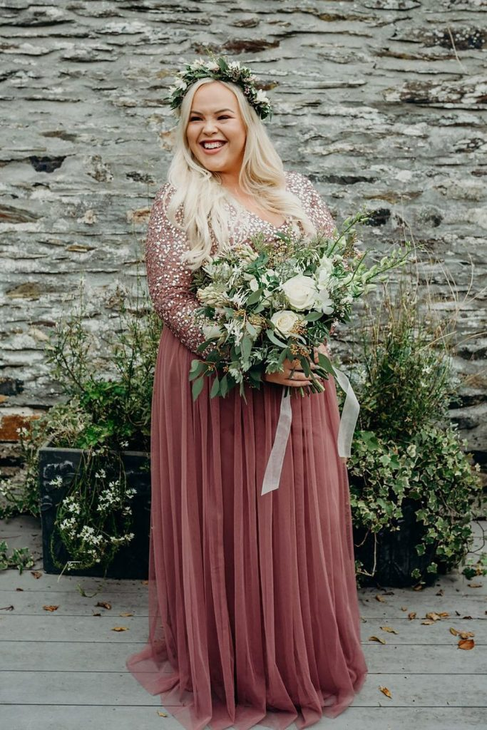 millennial pink blog post bride in rose gold