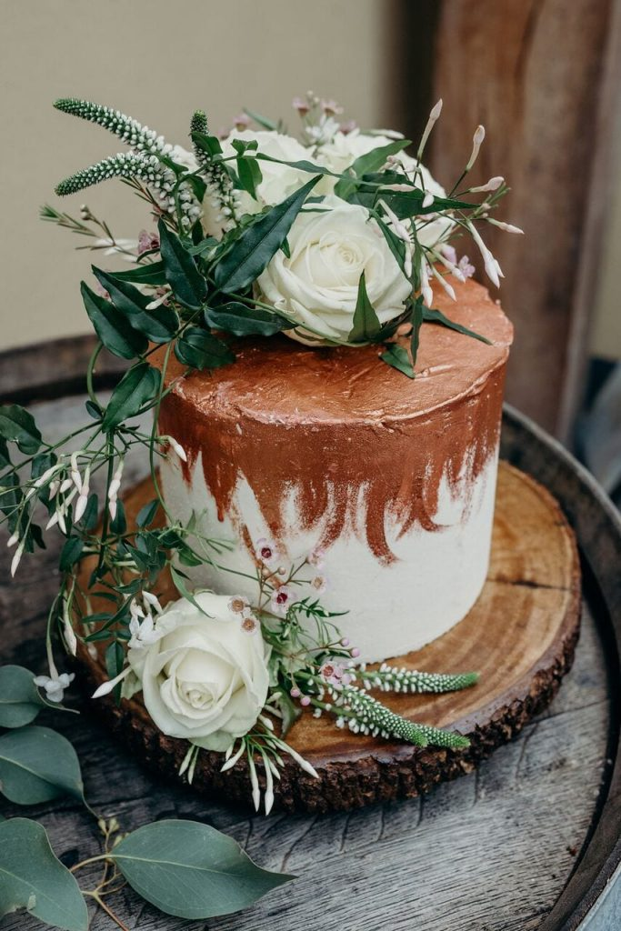 november recap elopement t wedding cake