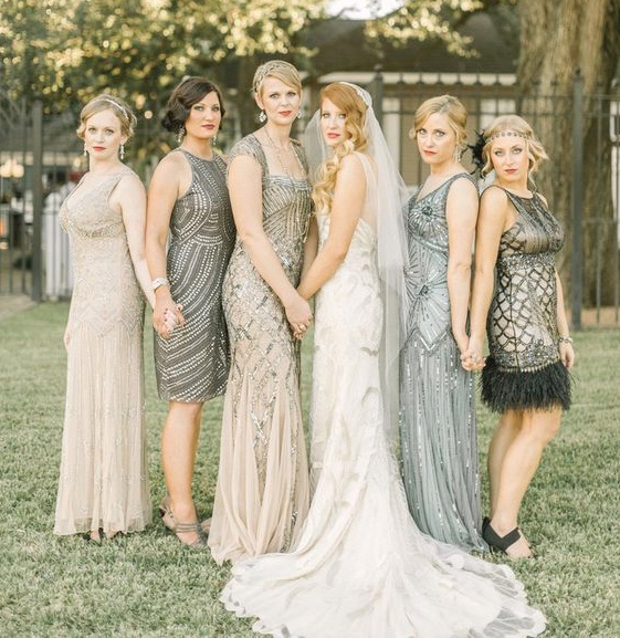 the great gatsby, gatsby wedding, flapper, vintage, pinterest, styled, ever after, theme