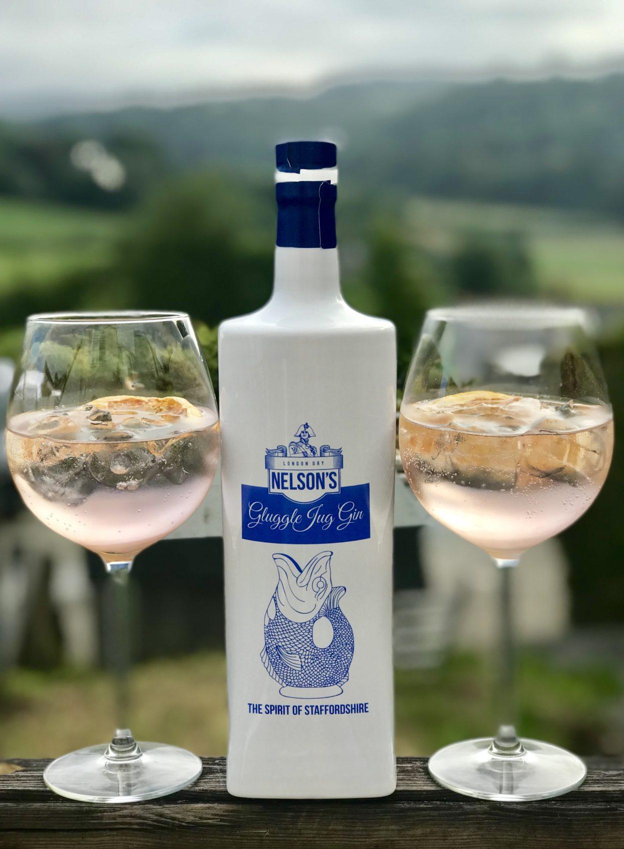 gin tasting, Cornwall life, Hard earned drink, nautical bottle, balloon glasses, garnish, orange, fruit, pink tonic, rhubarb fentimans tonic