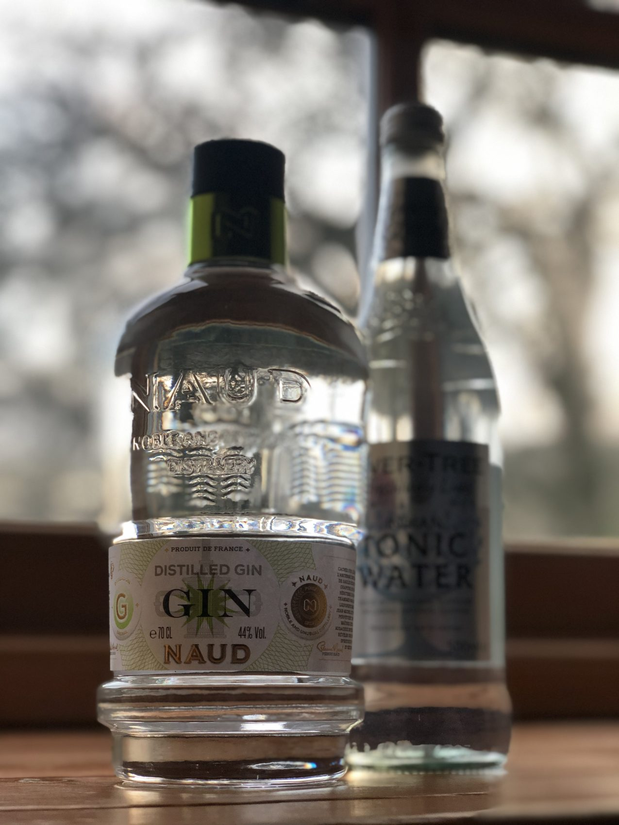 Naud Gin, Fever Tree Tonic, Smooth, Tangy, Flavour, Botanicals