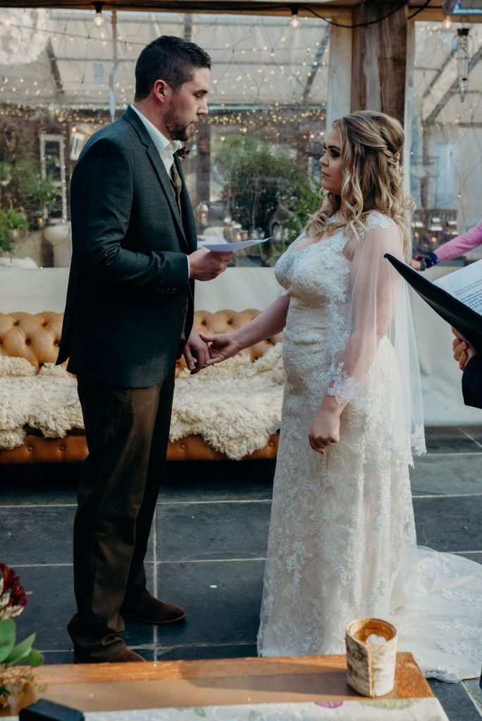 lisa&lee real wedding ever after