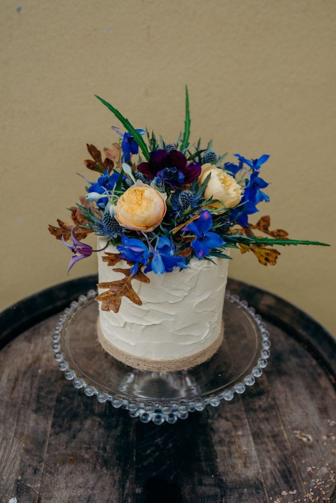 elopement wedding cake