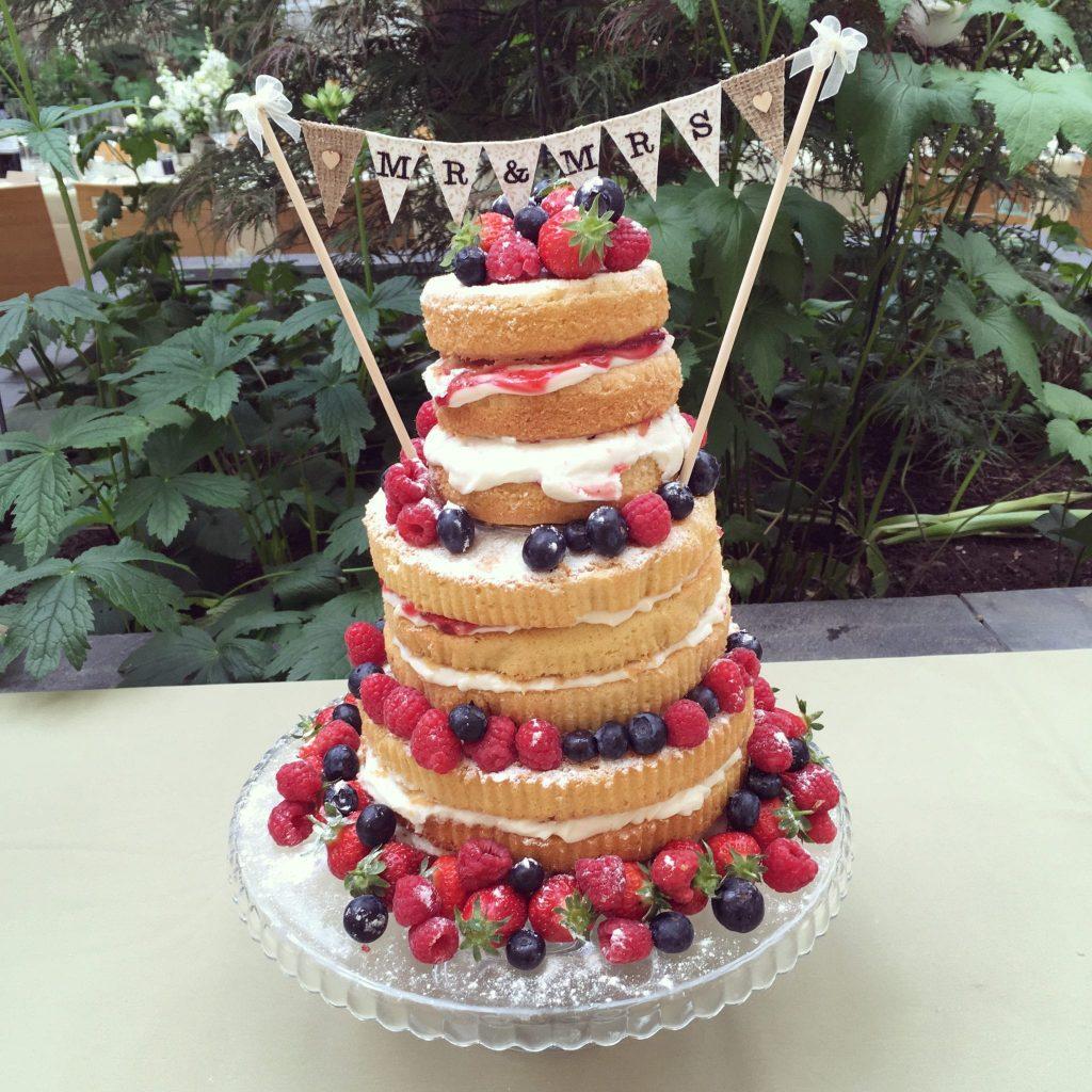 cake inspiration ever after blog post naked cake