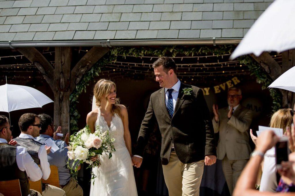 lavender trend ever after blog post bride and groom just married