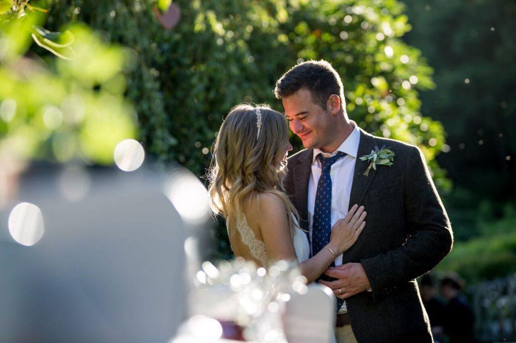lavender trend ever after blog bride and groom