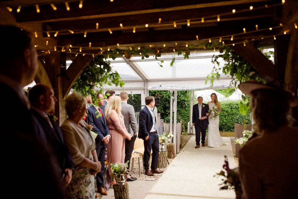 ceremony blog post ever after wet weather
