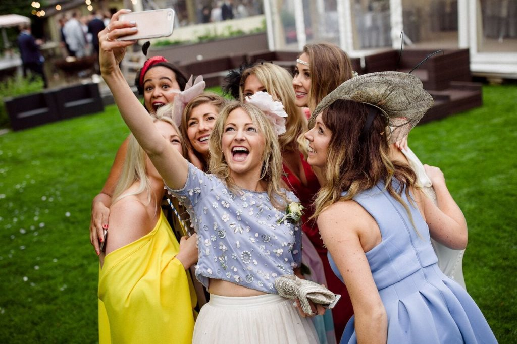 instagramable wedding trend blog post ever after guest selfie