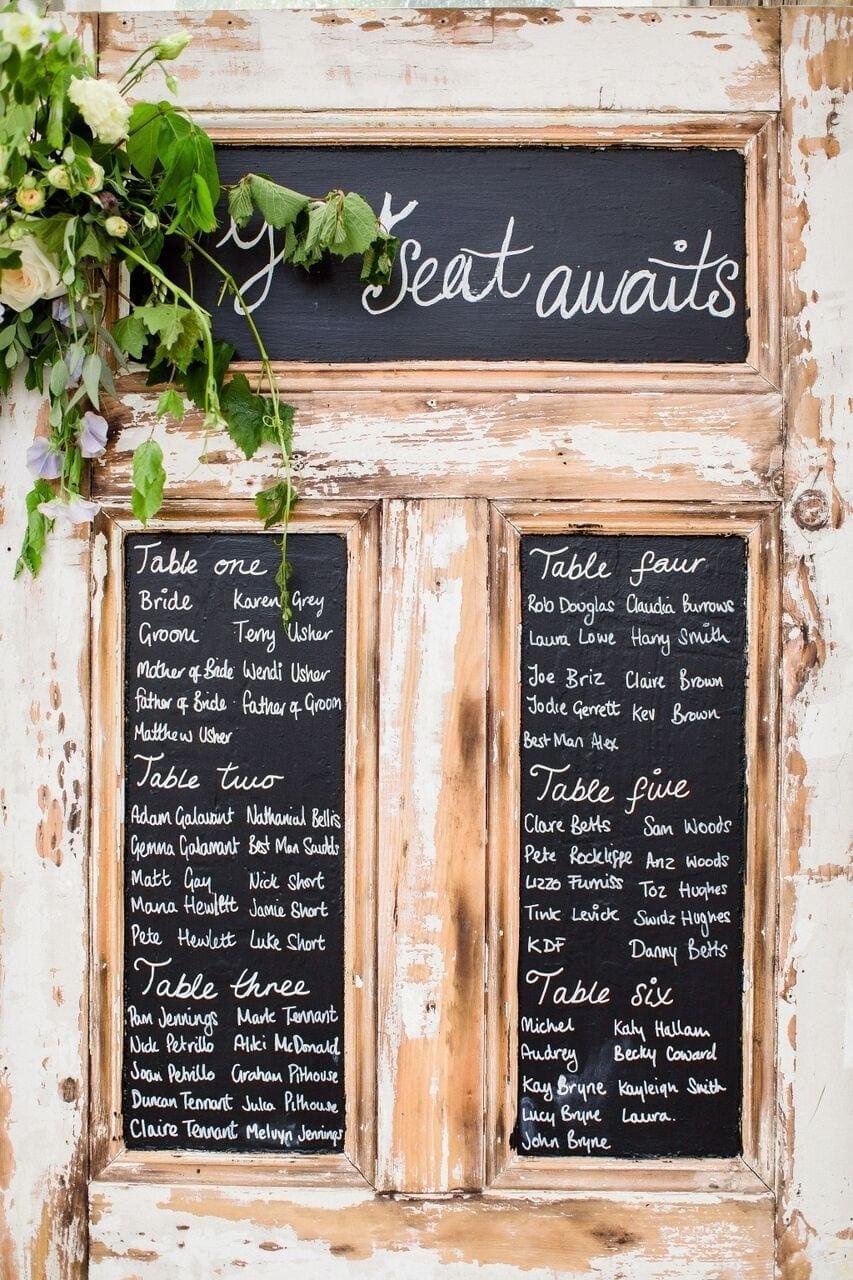 Wedding Seating Plan Preview