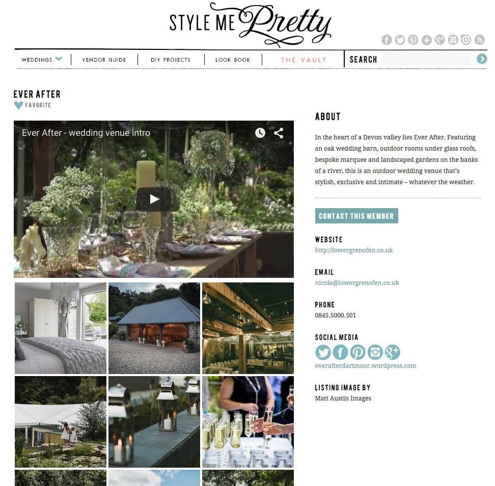 SMP vendor page
