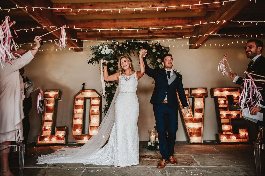 flashback friday sarah and josh love letter wedding barn