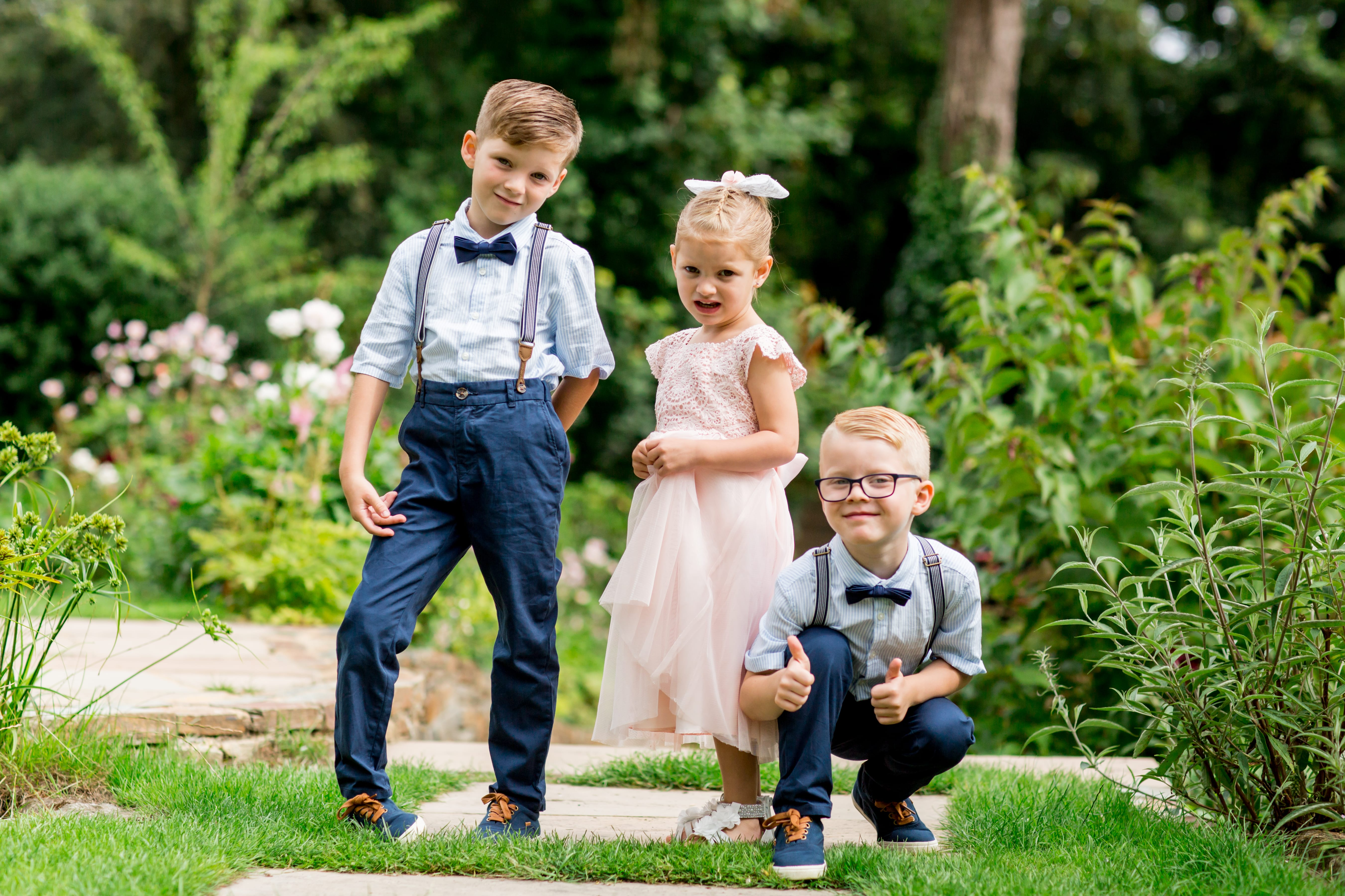 flower girl & page boys