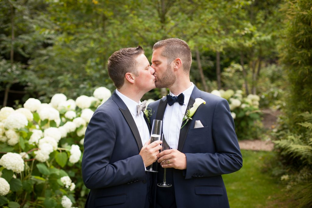 Andrew & Tim real wedding Ever after