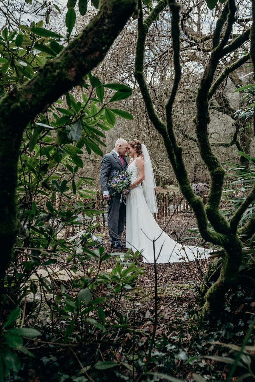 real elopement wedding at ever after