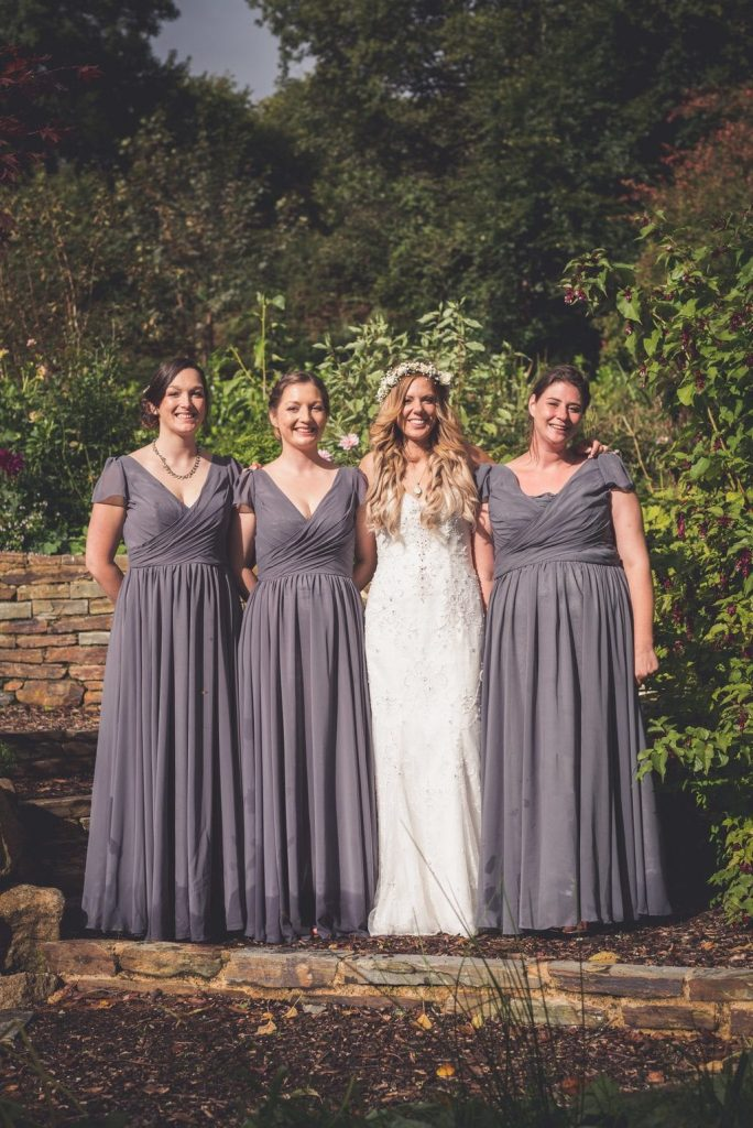 bridesmaids ever after blog post long dresses