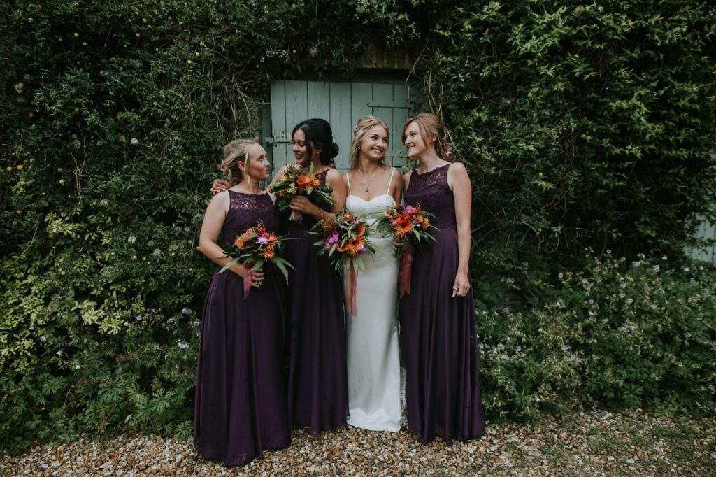 bridesmaids ever after blog post long bridesmaid dresses