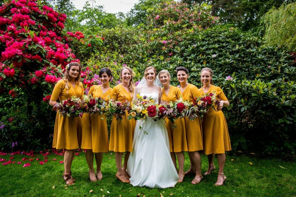 bold and bright wedding trend alena and david ever after blog post