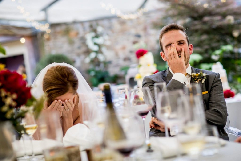 nightmare scenario: running out of drink at your wedding…
