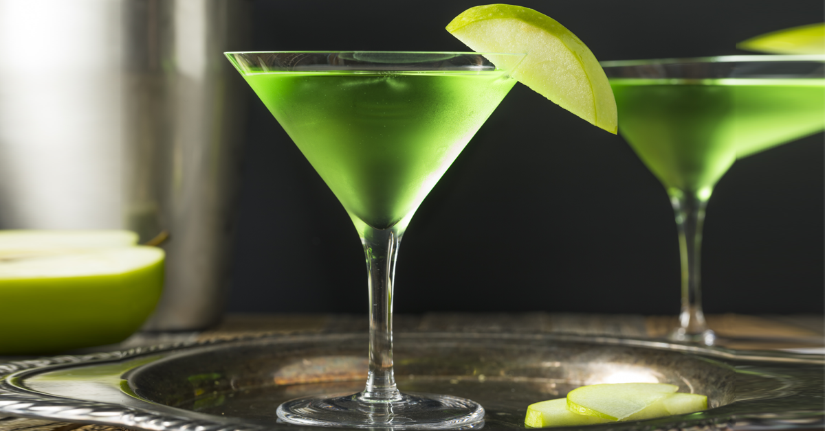craft gin club, cocktail suggestion, appletini