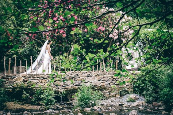 Ever After, river walk, venue, floral, gardens, lawns, stone wall, farm house view