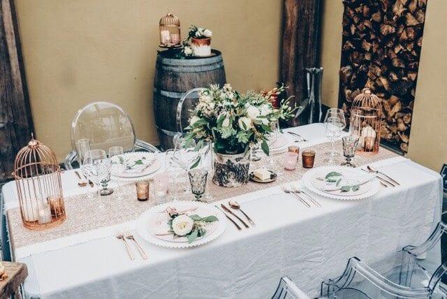 georgia's wedding blog wedding breakfast table