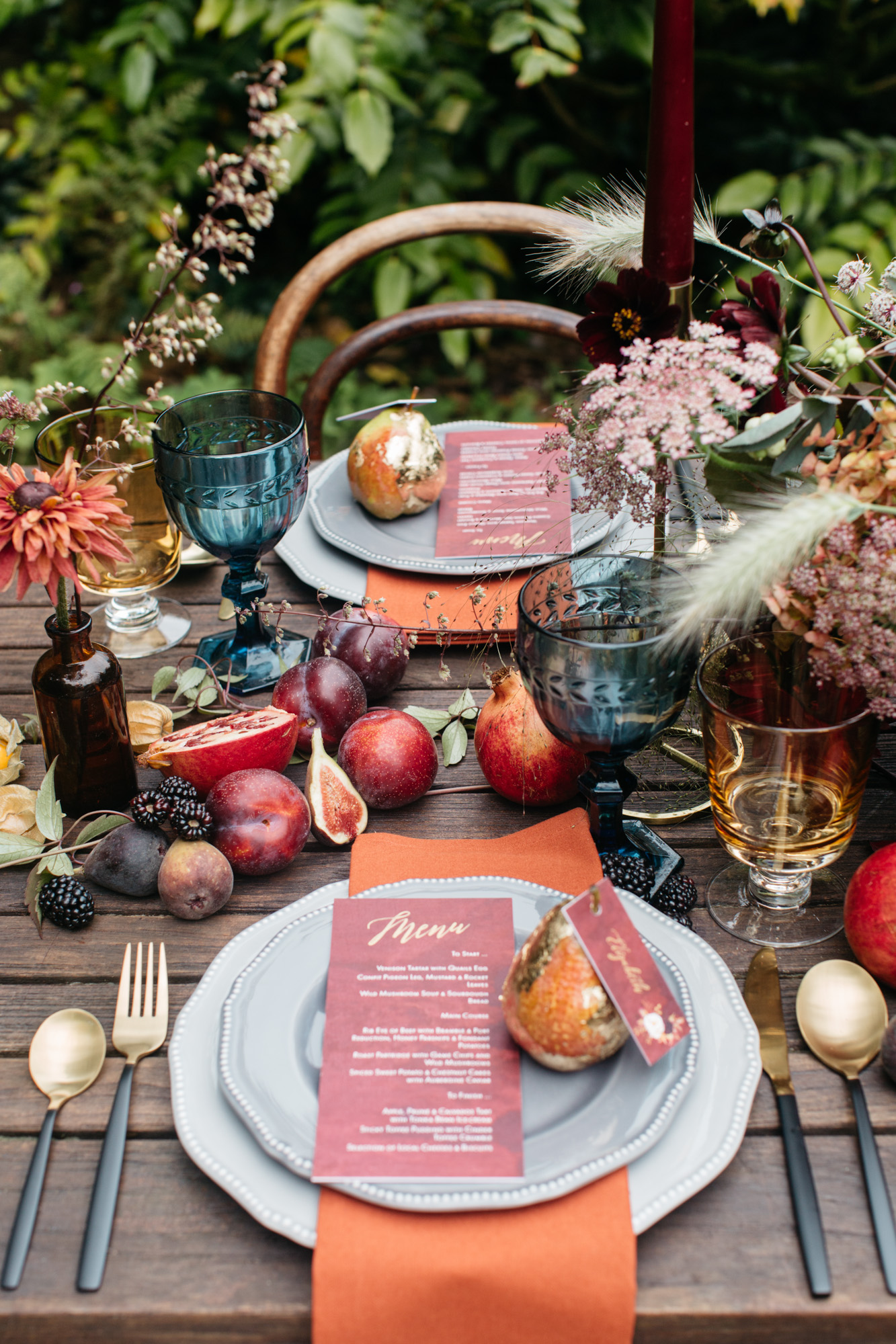 inspirational autumn photo shoot – featured on ruffled blog…