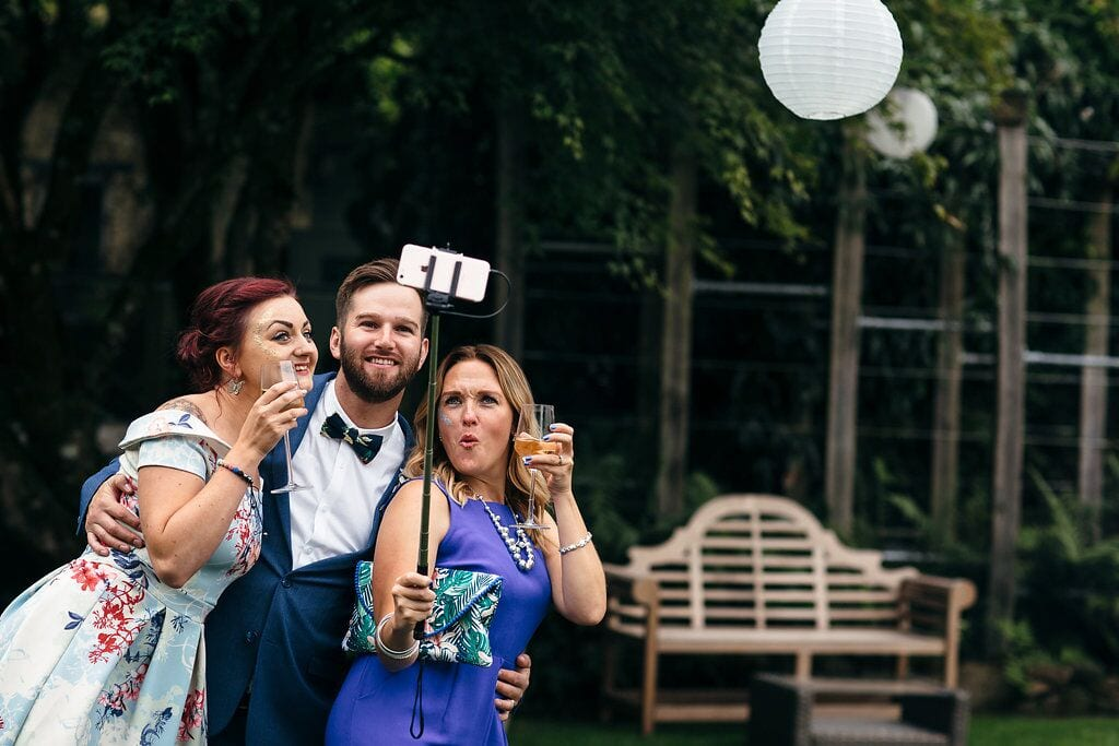 let me take a selfie, self stick, phones, no phones, photos, reception, ever after, wedding rules, wedding, unplugges