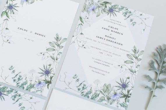 wedding stationery options part 2