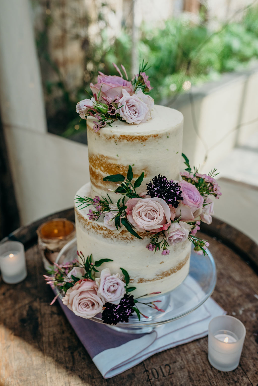 semi naked cake, elopement, harrie, boo to a goose, ever after wedding, intimate, miniature cakes